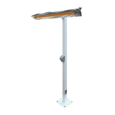 Infratech 8-Foot Pole Mount for 61.25-Inch Heaters (Heater Not Included) - 22 1255
