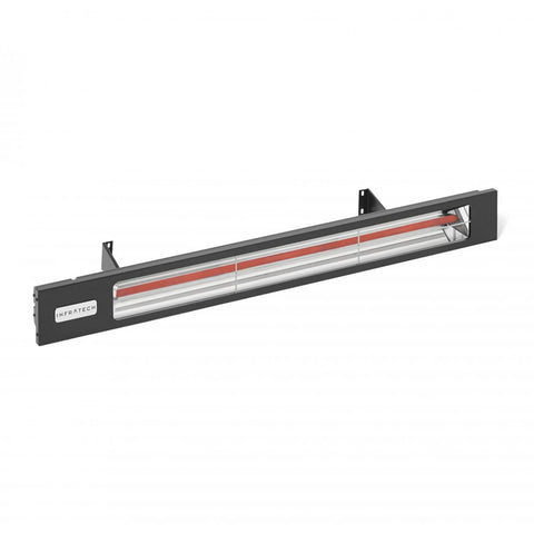 Infratech Slimline Black Shadow Series 42.5-Inch Single Element 208 Volt, 2400 Watt, 10 Amp Outdoor Heater - SL2428BL