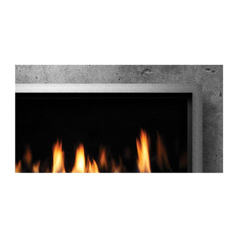 Barbara Jean Stainless Steel Surround for 55-Inch Linear Fireplace - KFOFP55SS