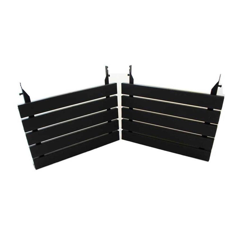 Kamado Joe Powder Coated Black Aluminum Side Shelves for 24-Inch Big Joe's - BJ-ALUMN
