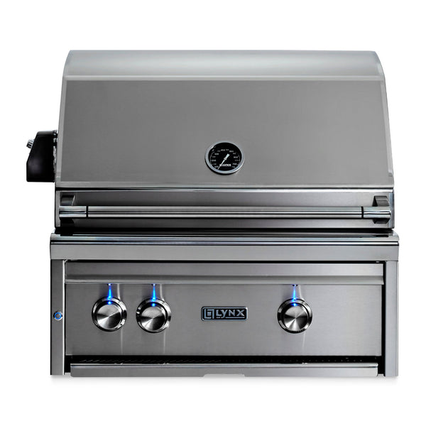 Lynx Professional 27-Inch Propane Gas Built-In Grill w/ Rotisserie - L27R-3-LP