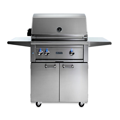 Lynx Professional 30-Inch Natural Gas Freestanding Grill -  All Trident w/ Rotisserie - L30ATRF-NG