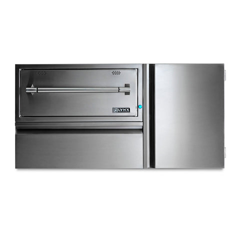 Lynx Professional 42-Inch Convenience Center w/ Warming Drawer, Storage Drawer & Tank Storage - L42CC-1