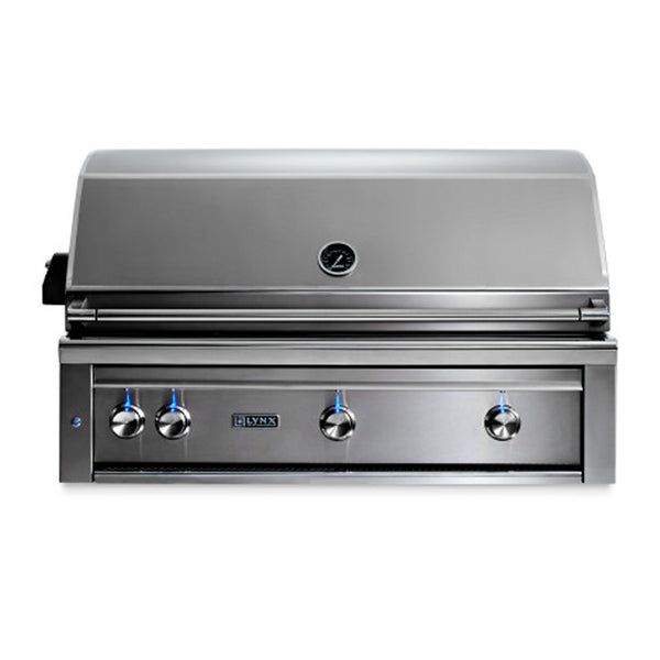 Lynx Professional 42-Inch Natural Gas Built-In Grill w/ Rotisserie - L42R-3-NG