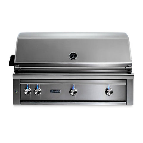 Lynx Professional 42-Inch Natural Gas Built-In Grill  - All Trident Sear Burner w/ Rotisserie - L42ATR-NG