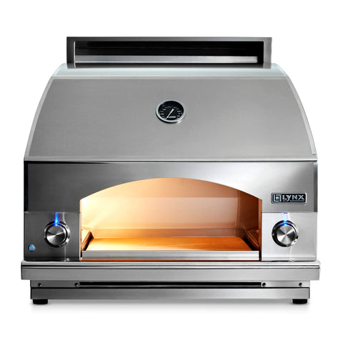 Lynx Professional 30-Inch Natural Gas Built-In or Countertop Napoli Pizza Oven - LPZA-NG