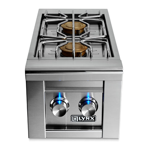 Lynx Professional Natural Gas Built-In Double Side Burner - LSB2-2-NG