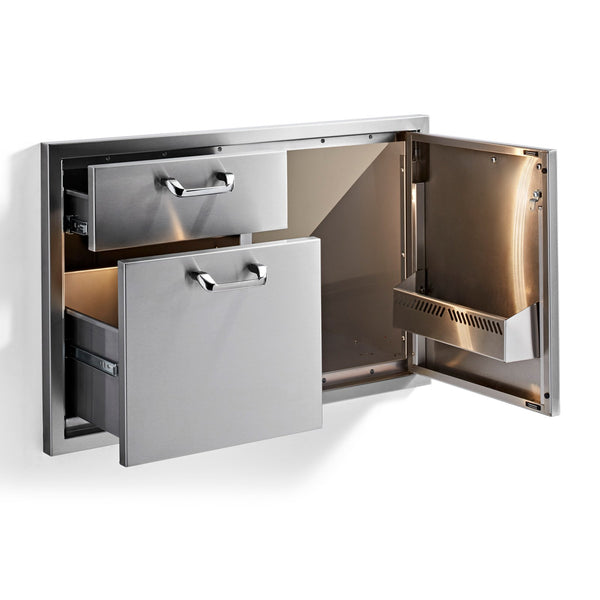 Lynx Professional 36-Inch Door and Double Drawer Combo - LSA36