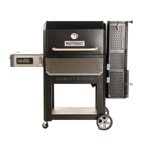 Masterbuilt Gravity Series 30-Inch Freestanding Digital 1050 Charcoal Grill & Smoker - MB20041220