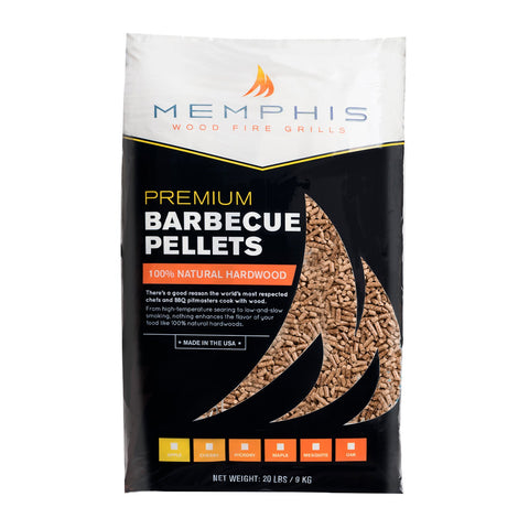 Memphis All-Natural Hickory Wood Pellets - MGHICKORY