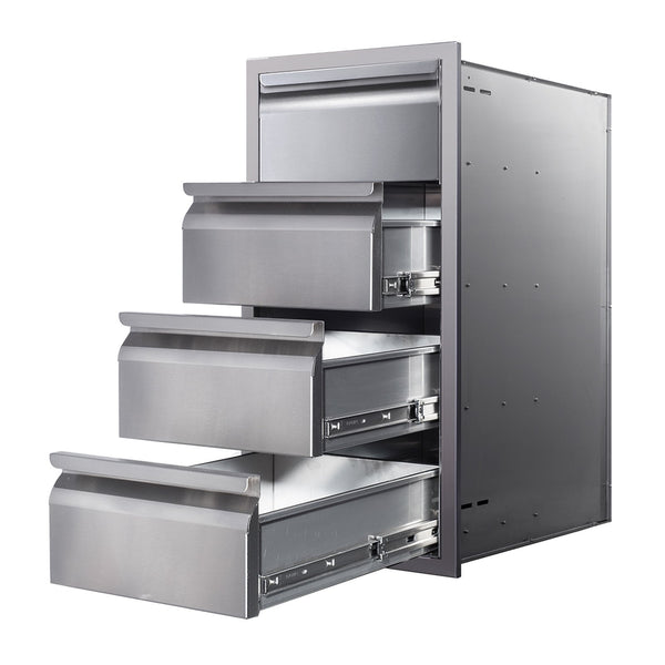 Memphis 15-Inch Quadruple Access Drawers - VGC15DB4