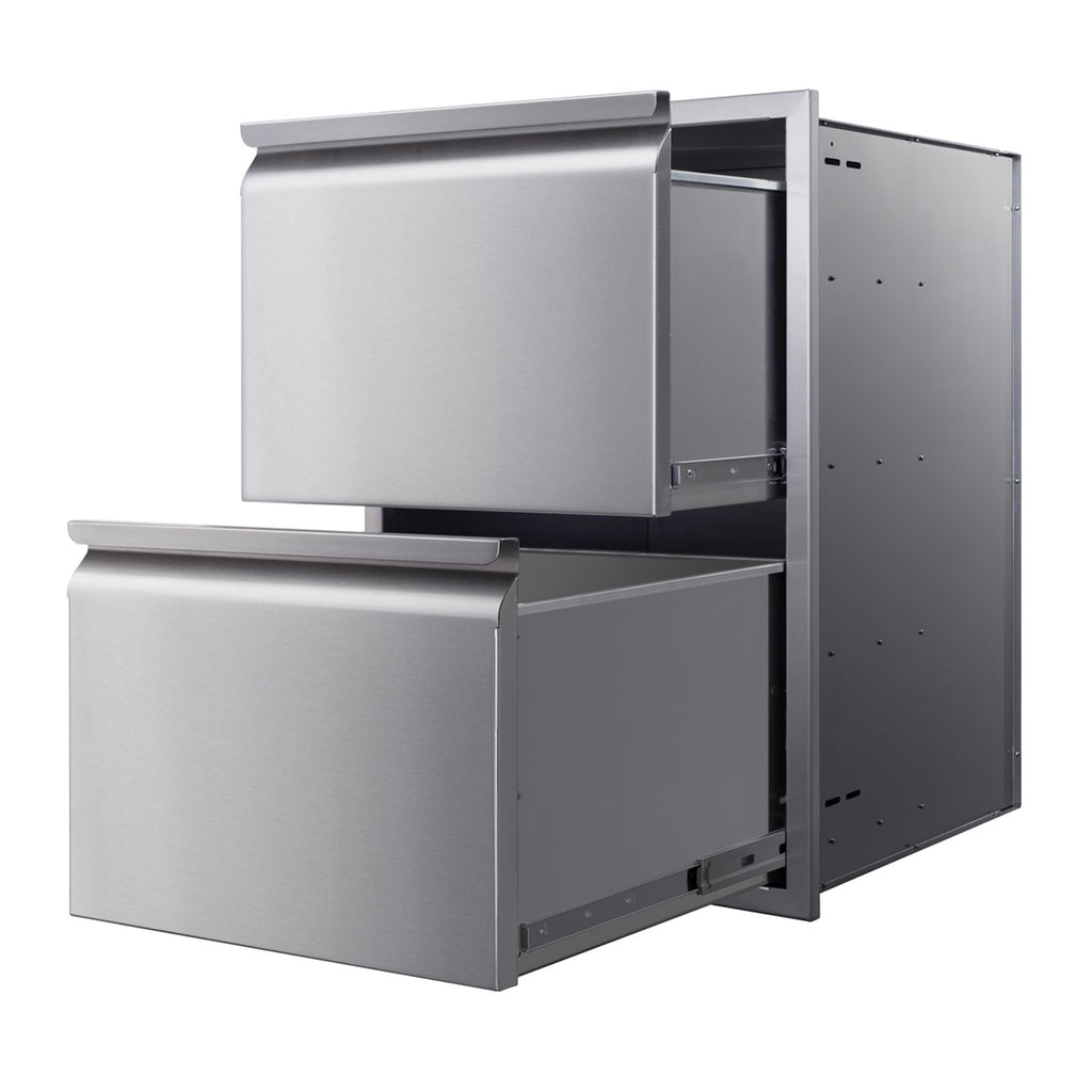 Memphis 21-Inch Double Access Drawers - VGC21DB2