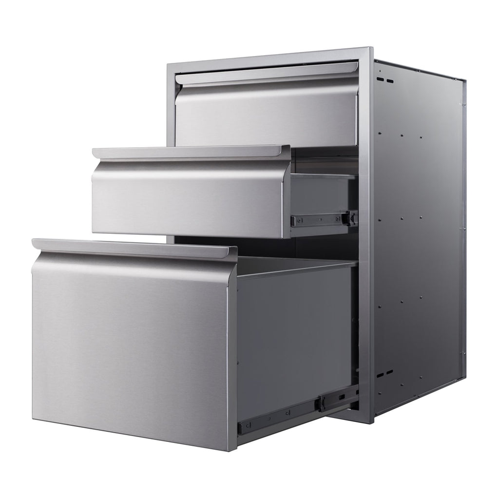 Memphis 21-Inch Triple Access Drawers - VGC21DB3