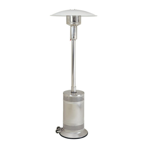 Patio Comfort Propane Gas Patio Heater w/ Push Button Ignition (Stainless Steel) - PC02SS