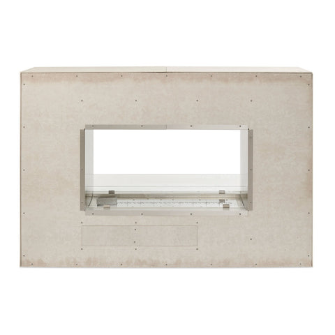 The Outdoor GreatRoom 40-Inch Natural Gas Linear Ready-to-Finish See-Through Fireplace w/ Direct Spark Ignition - RSTL-40DNG