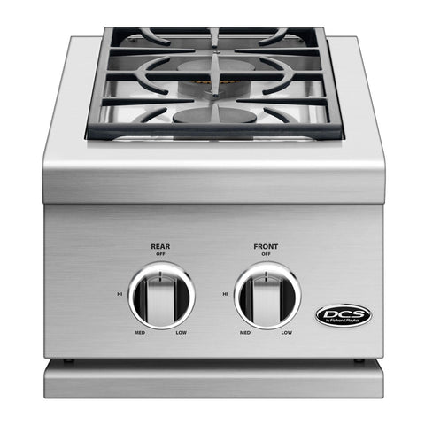 DCS Series 9 14-Inch Built-In Propane Gas Double Side Burner - SBE1-142-L