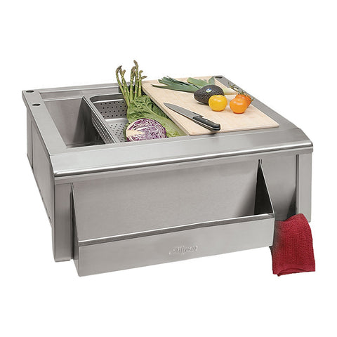 Alfresco 30-Inch Sink Preparation Package - SINK PACKAGE (does not include sink)