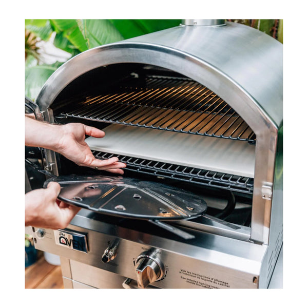 Summerset Propane Gas Freestanding Stainless Steel Outdoor Oven - SS-OVFS-LP
