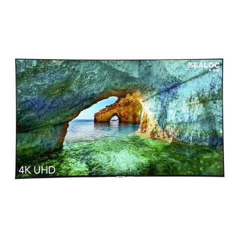 Sealoc Coastal Series Fully Weatherproof 75-Inch 4K LED UHD Samsung Q60 Smart TV w/ Bixby Voice Control - CST-SSQ60-75