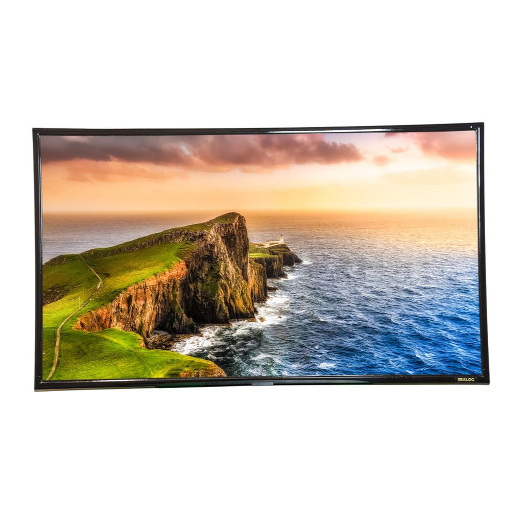 Sealoc Lanai Series Weather Resistant 75-Inch 4K UHD Samsung RU8000 Smart TV w/ Bixby Voice Control (For Use Under Roof or Cover) - LAN-SS8S-75