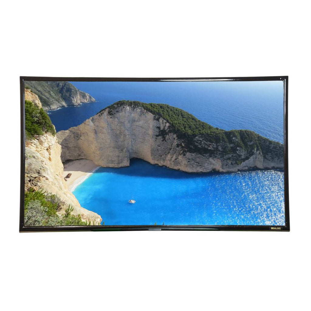 Sealoc Commercial Grade Lanai Series Weather Resistant 43-Inch FHD LG SM5KE-B Series TV w/ WIFI (For Use Under Roof or Cover) - LANLG-43SM5KE-B