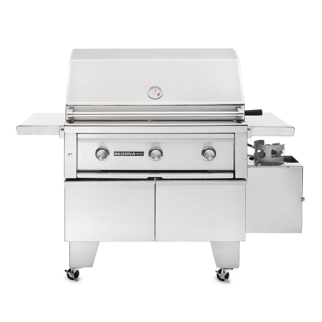 Sedona by Lynx 36-Inch Propane Gas ADA Compliant Freestanding Grill - 2 Stainless Steel Burner and 1 ProSear Burner - L600ADA-LP