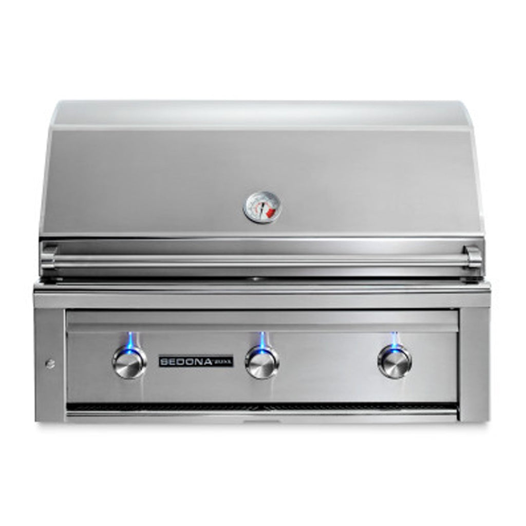 Sedona by Lynx 36-Inch Propane Gas Built-In Grill - 2 Stainless Steel Burners and 1 ProSear Burner - L600PS-LP