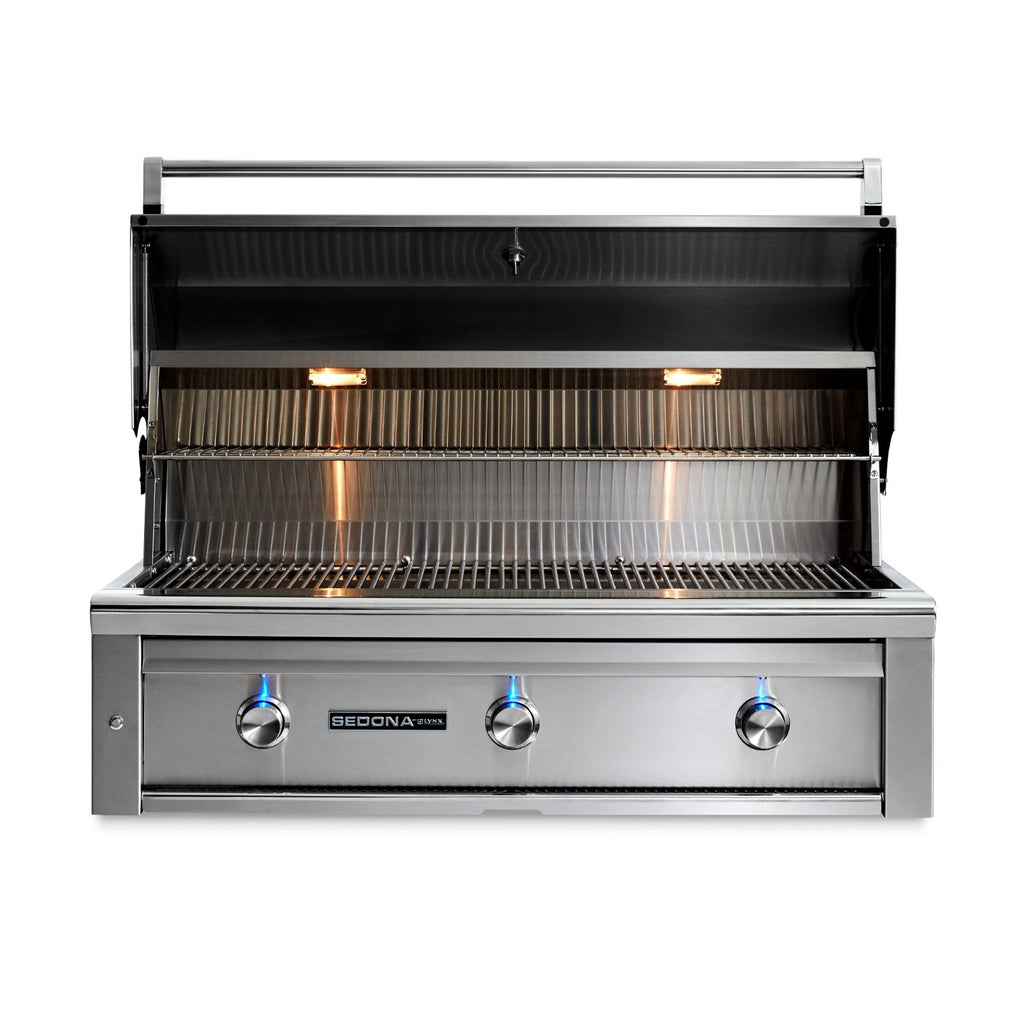 Sedona by Lynx 42-Inch Natural Gas Built-In Grill - 2 Stainless Steel Burners and 1 ProSear Burner - L700PS-NG