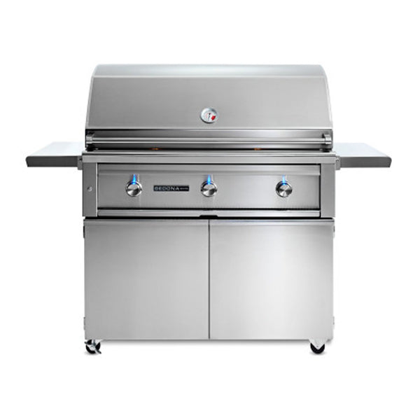 Sedona by Lynx 42-Inch Natural Gas Freestanding Grill - 2 Stainless Steel Burners and 1 ProSear Burner - L700PSF-NG