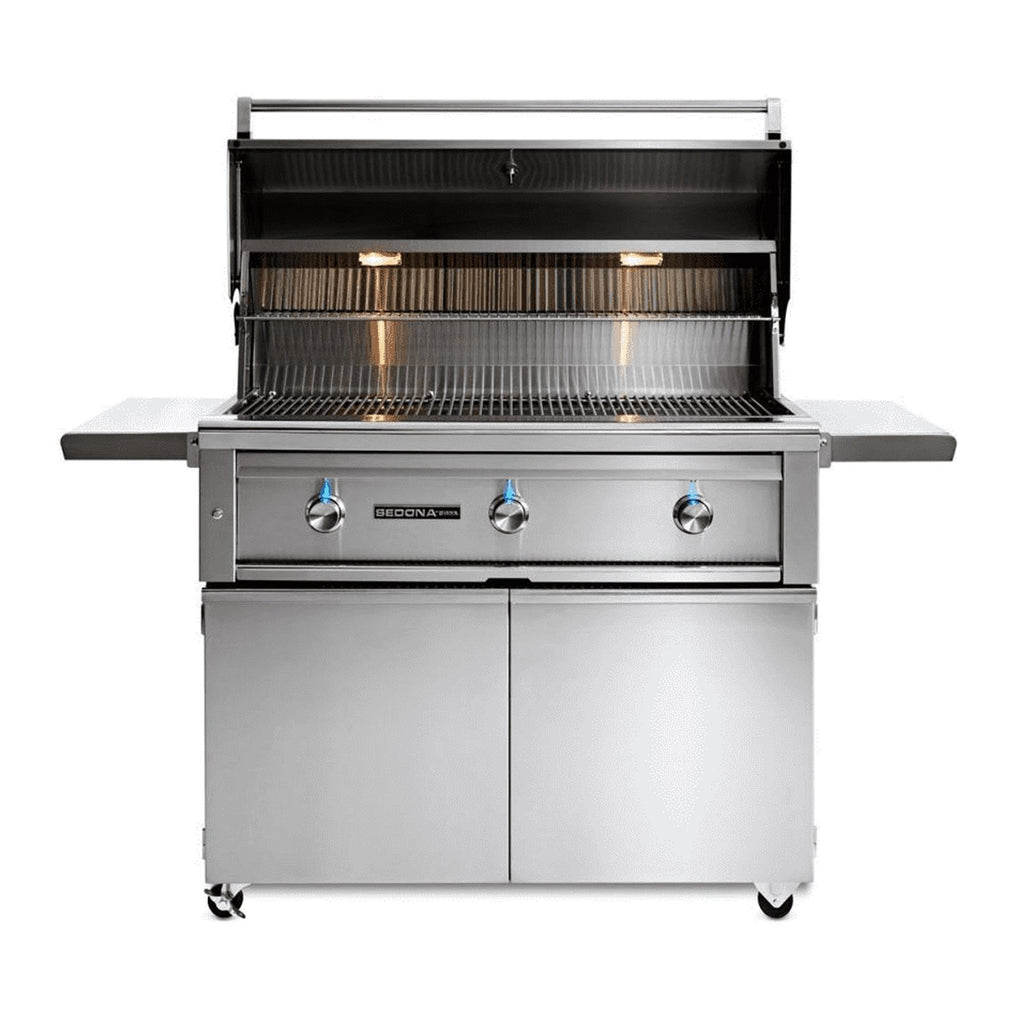Sedona by Lynx 42-Inch Propane Gas Freestanding Grill - 2 Stainless Steel Burners and 1 ProSear Burner - L700PSF-LP