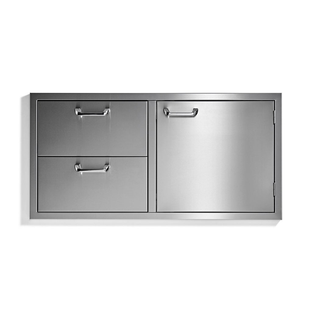 Sedona by Lynx 42-Inch Storage Door and Double Drawer Combo - LSA742