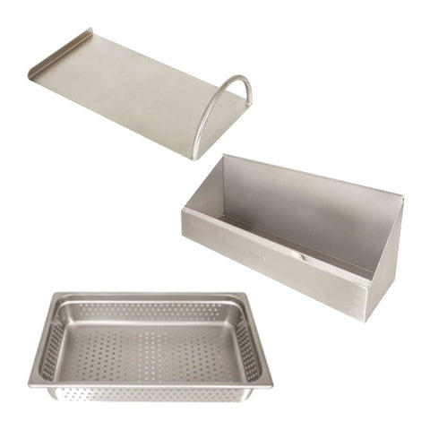 Alfresco 30-Inch Sink Preparation Accessory Package - SINK PACKAGE (does not include sink or cutting board)