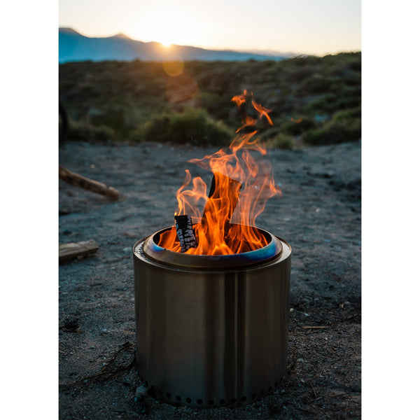 Solo Stove Ranger 15-Inch Portable Low Smoke Wood Burning Firepit - SSRAN