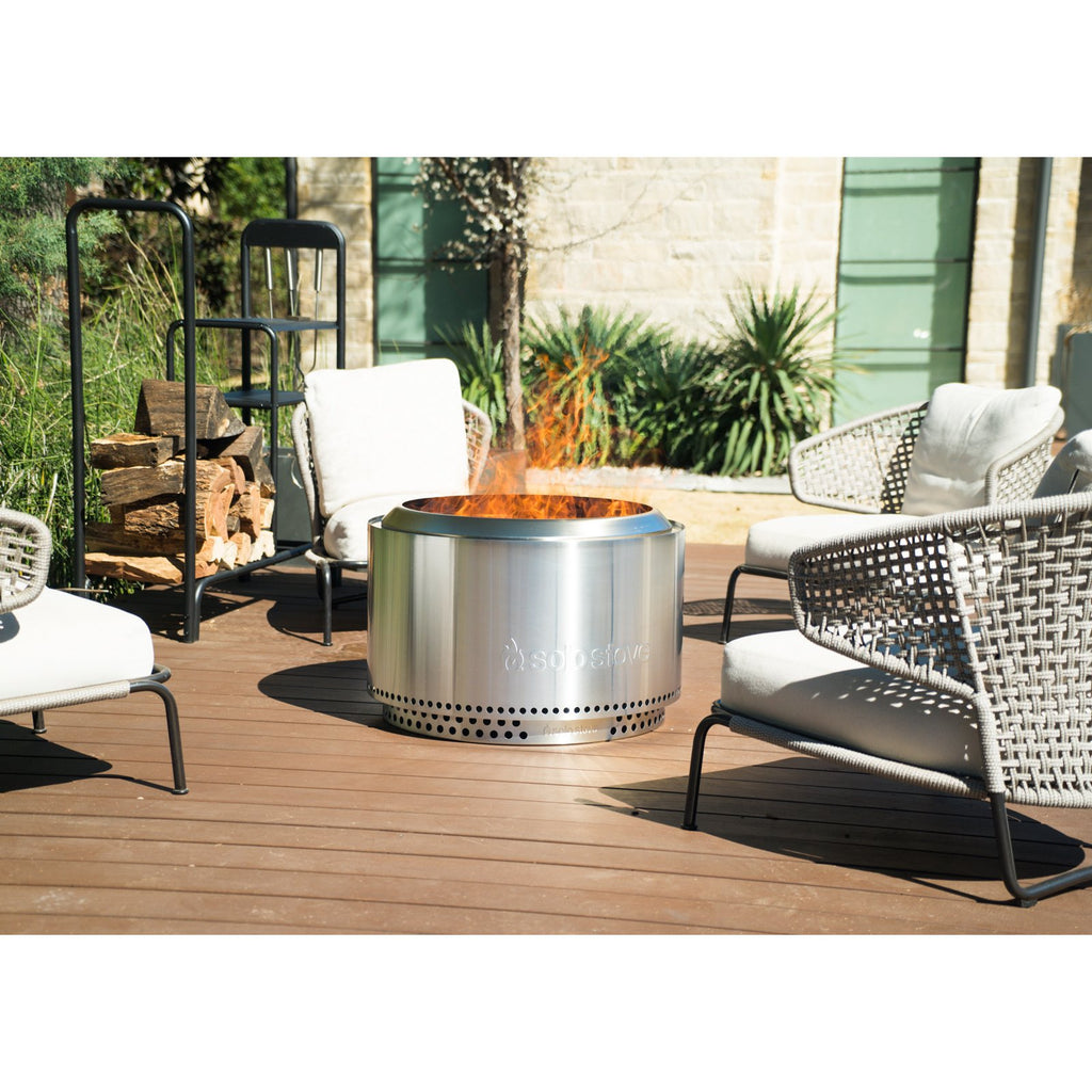 Solo Stove Yukon 27-Inch Portable Low Smoke Wood Burning Firepit - SSYUK