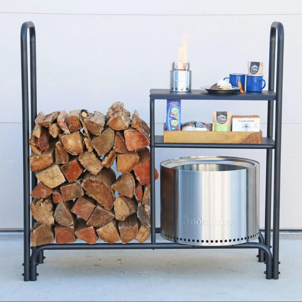 Solo Stove Outdoor Organization Storage Shelf for Ranger & Bonfire Firepits - STN