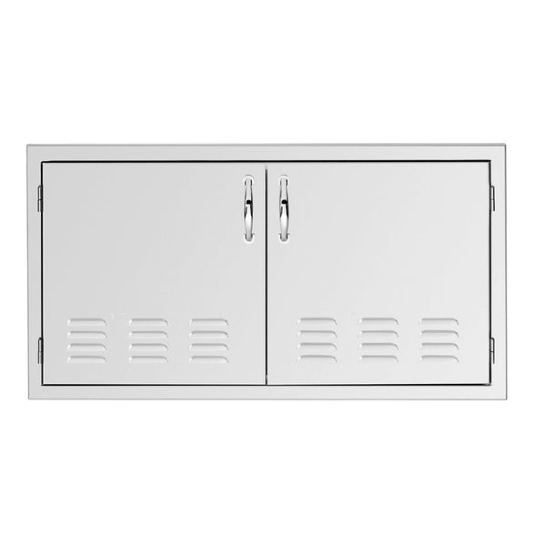 Summerset 33-Inch North American Stainless Steel Vented Double Access Door - SSDD-33V
