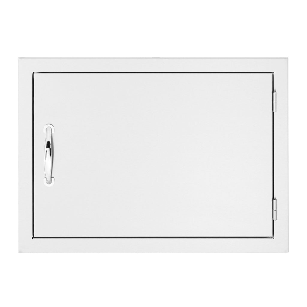 Summerset 27x20 North American Stainless Steel Horizontal Access Door w/ Masonry Frame Return - SSDH-27M