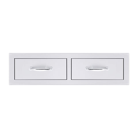 Summerset 32-Inch North American Stainless Steel Double Drawer - SSDR2-32H
