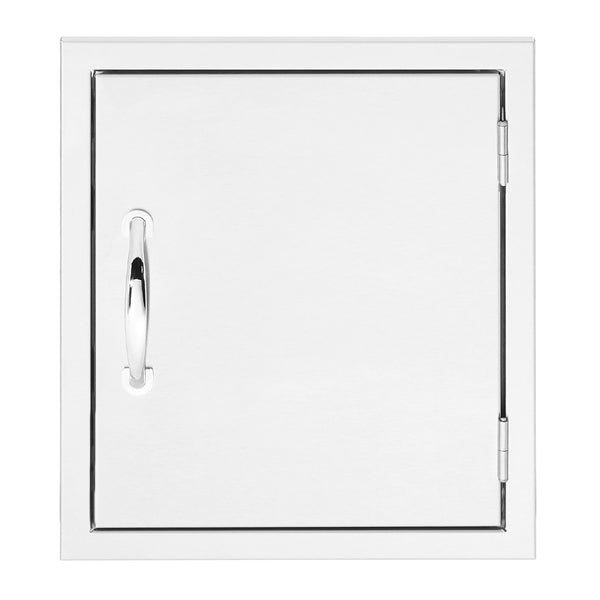 Summerset 16x18 North American Stainless Steel Vertical Access Door (Reversible Hinge) - SSDV-16