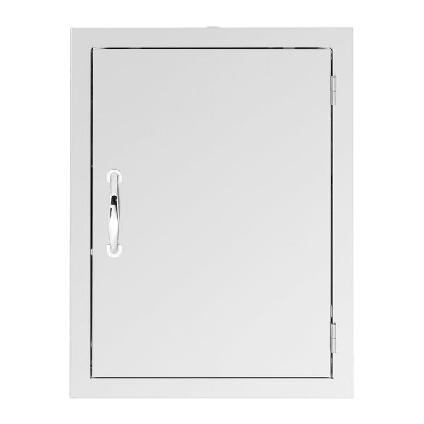 Summerset 20x27 North American Stainless Steel Vertical Access Door w/ Masonry Frame Return (Reversible Hinge) - SSDD-26