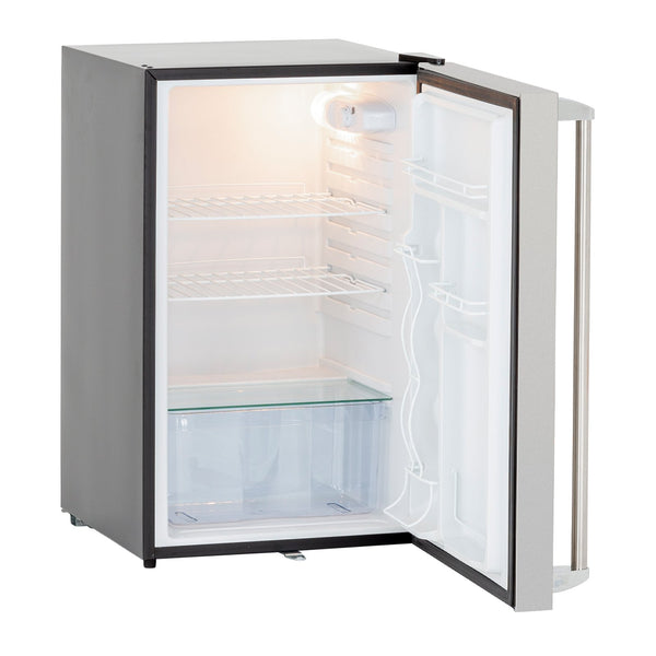 Summerset 21-Inch 4.5c Deluxe Compact Refrigerator (Right Hinge) - SSRFR-21D