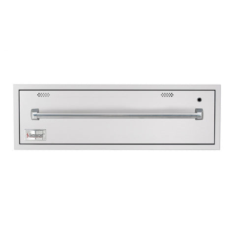 Summerset 36-Inch North American Stainless Steel Warming Drawer - SSWD-36