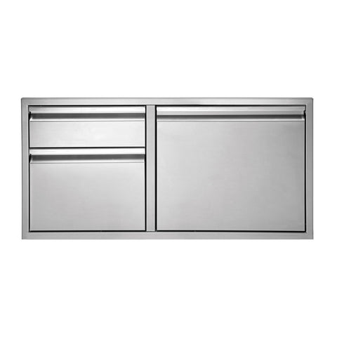 Twin Eagles 36-Inch Two Drawer Door Combo - TEDD362-B
