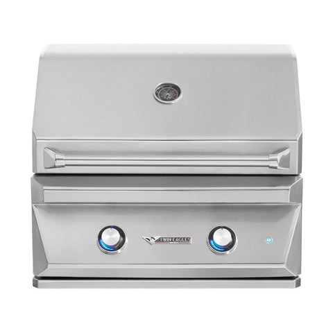 Twin Eagles 30-Inch Natural Gas Built-In Grill w/ Infrared Rotisserie - TEBQ30R-CN