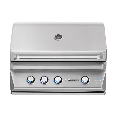 Twin Eagles 36-Inch Propane Gas Built-In Grill w/ Infrared Rotisserie and Sear Zone - TEBQ36RS-CL