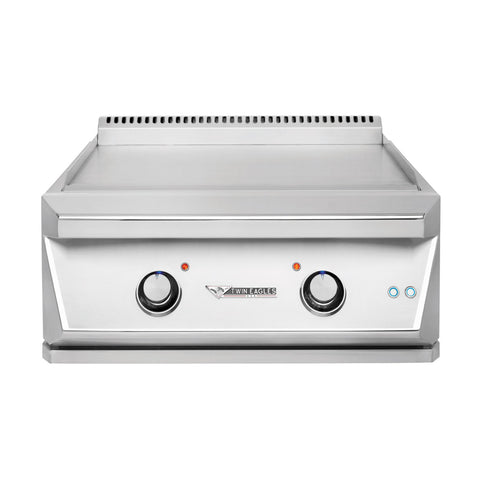 Twin Eagles 30-Inch Propane Gas Built-In Teppanyaki Grill - TETG30-CL