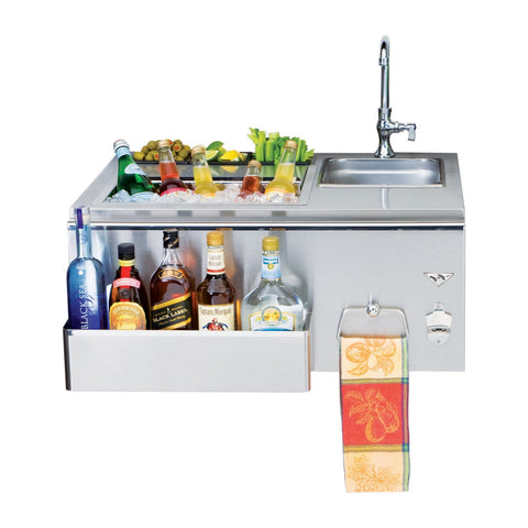Twin Eagles 30-Inch Built-In Outdoor Bar - TEOB30-B