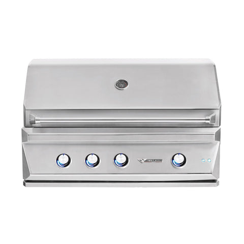 Twin Eagles 42-Inch Propane Gas Built-In Grill w/ Infrared Rotisserie - TEBQ42R-CL