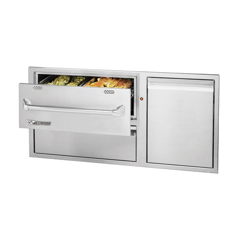 Twin Eagles 42-Inch Warming Drawer Combo - TEWD42C-C