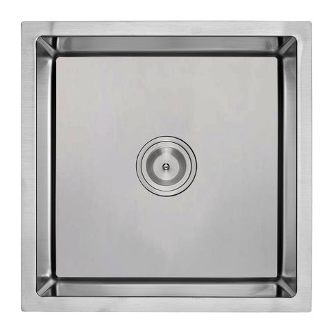 E2 Stainless 16 Gauge 15x15x7.25 Stainless Steel Rectangular Sink w/ Very Small Corner Radius - VSR-1515